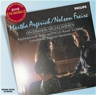 On 2 Pianos: Suite Op. 17 No. 2/La Valse - Argerich Martha/Freire Nelson