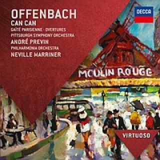 Can Can Gaite Parisienne Overtures - Marriner/Previn