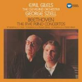 Beethoven, Ludwig van: The Five Piano Concertos - Gilels, Emil (piano)