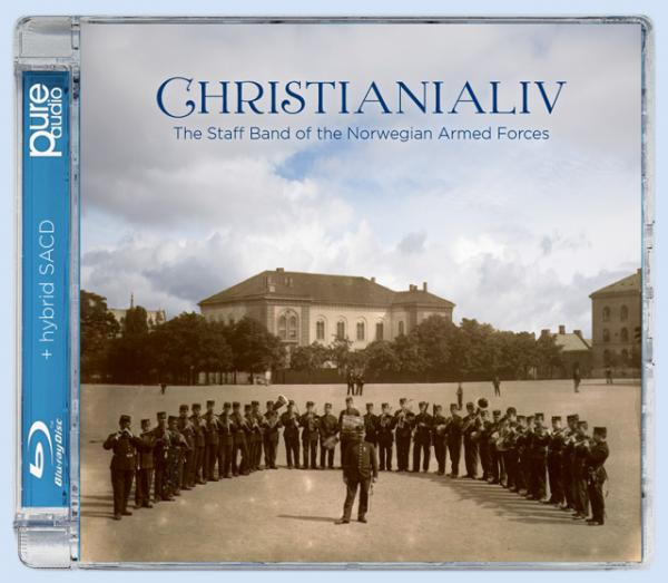 Christianialiv – Works from Norway's Golden Age of wind music <span>-</span> Forsvarets stabsmusikkorps