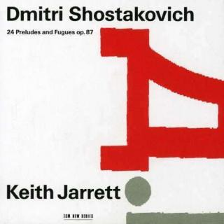 Shostakovich, Dmitri: Preludes & Fugues For Piano (24) Op. 87 - Jarrett, Keith (klaver)