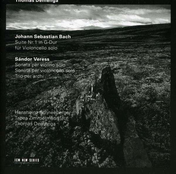 Bach, Johann Sebastian: Cello Suite No. 1 / Veress, Sándor: Sonatas <span>-</span> Demenga, Thomas (cello)