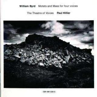 Byrd, William: Motets And Mass For Four Voices - Theatre of Voices, The / Hillier, Paul