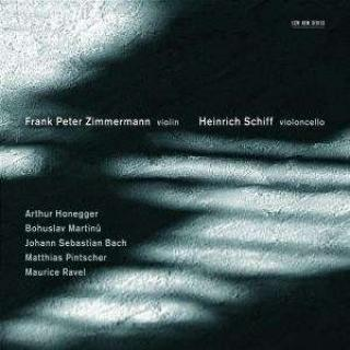 Duos For Fiolin Og Cello - Zimmermann, Frank-Peter (fiolin) / Schiff, Heinrich (cello)