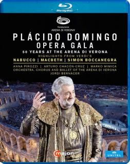 Placido Domingo - Opera Gala - 50 Years at the Arena di Verona - Domingo, Placido (tenor) /Orchestra, Chorus & Ballet of the Arena di Verona / Chorus of the Arena di Verona / Bernacer, Jordi