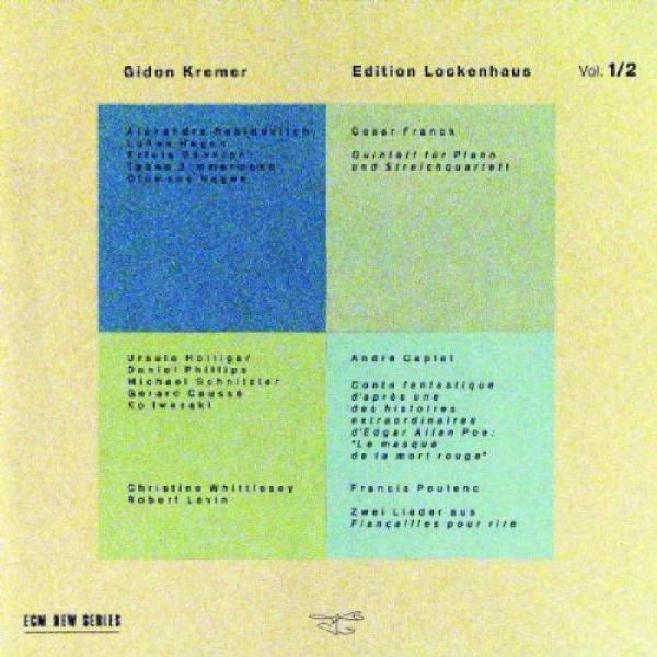 Edition Lockenhaus Vol.1 & 2 <span>-</span> Kremer, Gidon