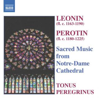 Sacred Music from Notre-Dame Cathedral - Tonus Peregrinus / Pitts, Antony