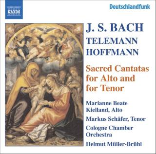 Sacred Cantatas for Alto and for Tenor - Kielland, Marianne Beate (alto) / Schäfer, Markus (tenor)