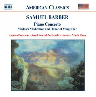 Barber: Orchestral Works Volume 4 - Prutsman, Stephen (piano) / Royal Scottish National Orchestra / Alsop, Marin