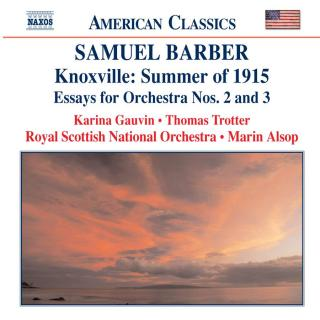 Barber: Orchestral Works Volume 5 - Royal Scottish National Orchestra / Alsop, Marin