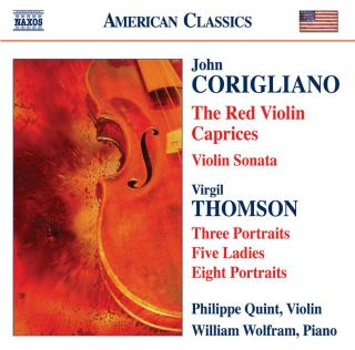 The Red Violin Caprices - Quint, Philippe (violin) / Wolfram, William (piano)