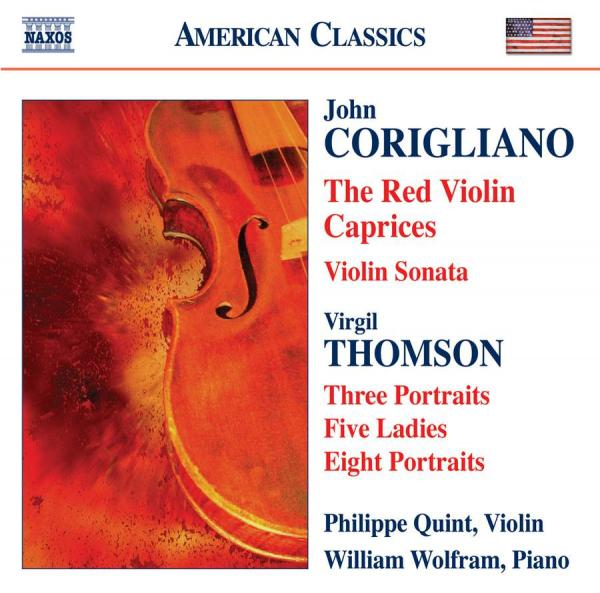 The Red Violin Caprices <span>-</span> Quint, Philippe (violin) / Wolfram, William (piano)
