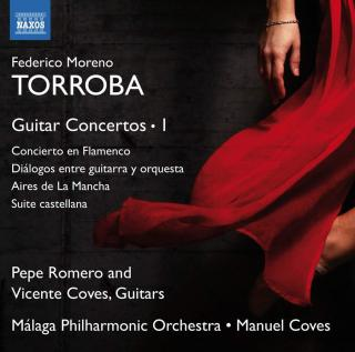 Torroba: Guitar Concertos, Vol. 1 - Romero, Pepe (guitar) / Coves, Vicente (guitar) / Malaga Philharmonic Orchestra / Coves, Manuel