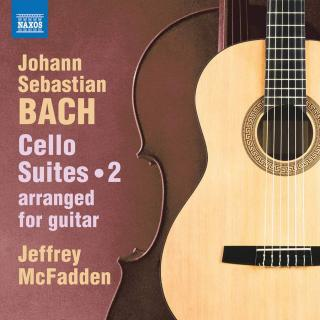 J.S. Bach: Cello Suites, Vol. 2 (arr. for Guitar) - McFadden, Jeffrey (guitar)