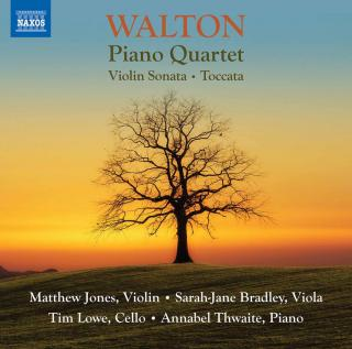 Walton: Piano Quartet; Violin Sonata; Toccata for Violin & Piano - Jones, Matthew (violin) / Bradley, Sarah-Jane (viola) / Lowe, Tim (cello) / Thwaite, Annabel (piano)