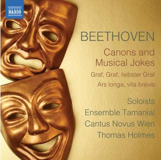 Beethoven: Canons & Musical Jokes - Cantus Novus Wien / Ensemble Tamanial / Holmes, Thomas