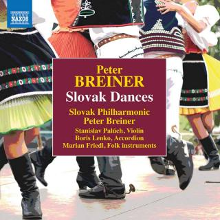 Peter Breiner: Slovak Dances - Slovak Philharmonic Orchestra / Breiner, Peter