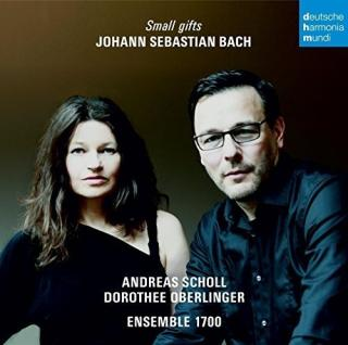 Bach - Small Gifts - Scholl, Andreas - counter-tenor | Oberlinger, Dorothee - recorder/director