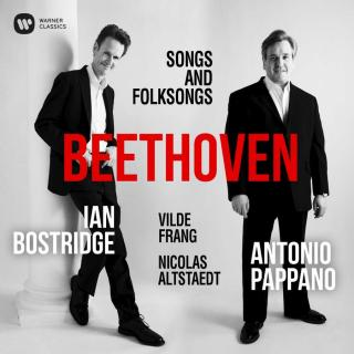 Beethoven: Lieder & Folksongs - Bostridge, Ian (tenor) / Pappano, Antonio (piano) / Frang, Vilde (violin) / Altstaedt, Nicolas (cello)