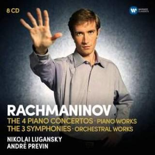 Rachmaninov: The Four Piano Concertos, Piano Works, Three Symphonies and Orchestral Works - Lugansky, Nikolai / City of Birmingham Symphony Orchestra / London Symphony Orchestra