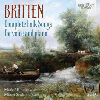 Complete Folk Songs for Voice & Piano - Milhofer, Mark / Scolastra, Marco