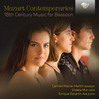 Mozart Contemporaries - 18th Century Music for Bassoon - Martin, Carmen Mainer / Escartin Ara, Enrique / Mur, Violeta