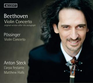 Beethoven, Ludwig van: Violin Concerto in D major op. 61 - Original version after the autograph - Steck, Anton – violin
