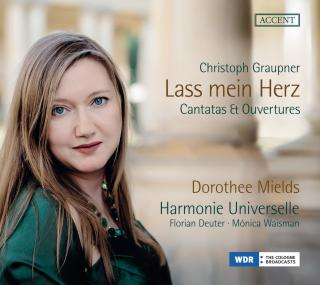 Graupner, Christoph: Lass mein Herz – Cantatas & Ouvertures - Mields, Dorothee