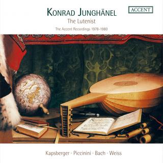 The Lutenist - Konrad Junghänel - The Accent Recordings 1978/1980 - Junghänel, Konrad
