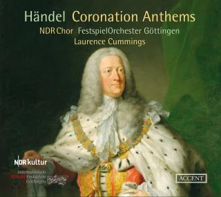 Handel, Georg Frideric: Coronation Anthems Nos. 1-4 - Cummings, Laurence