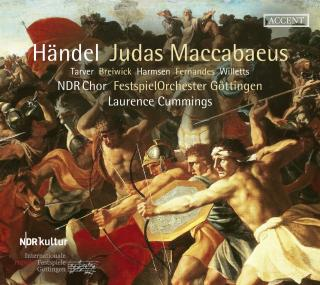 Handel, George Frideric: Judas Maccabeus - Oratorio - Cummings, Laurence / FestspielOrchester Göttingen