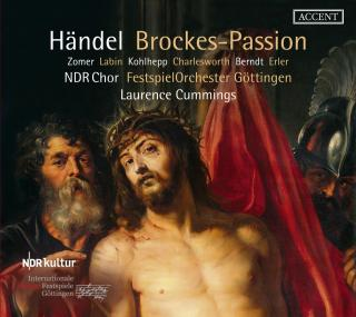 Handel, Georg Frideric: Brockes-Passion - Cummings, Laurence