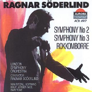 Søderlind: Symfoni No 2/3/ - London Symphony Orchestra/Søderlind, Ragnar