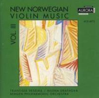 New Norwegian Violin Music Vol. III - Veselka, Frantisek (violin)/Dratvová, Milena (piano)