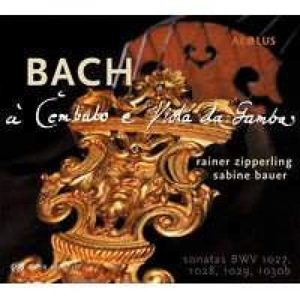 Bach, Johann Sebastian: Sonater For Gambe Og Cembalo <span>-</span> Zipperling, Rainer (bass viol)