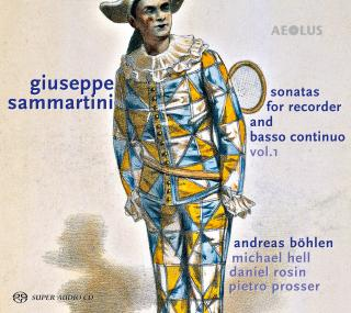 Sammartini, Giuseppe: Sonatas for Recorder and basso continuo Vol. 1 - Böhlen, Andreas (recorder)