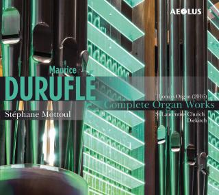 Durufle, Maurice: Organ Works, Complete - Mottoul, Stephane – organ St. Laurentius Church in Diekirch, Luxembourg