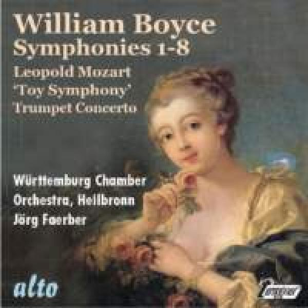 Boyce, William: Eight Symphonies, Op. 2 <span>-</span> Faerber, Jörg