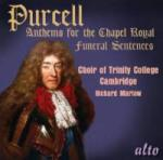 Purcell, Henry: Anthems for the Chapel Royal <span>-</span> Choir of Trinity College Cambridge