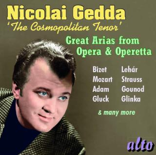 Nicolai Gedda - The Cosmopolitan Tenor - Great Arias from Opera & Operetta - Gedda, Nicolai