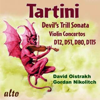 Tartini, Giuseppe: The Devil's Trill & Violin Concertos D12, D51, D80, D115 - Nikolitch, Gordan