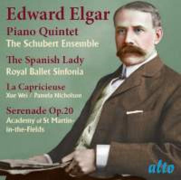 Elgar, Edward: Piano Quintet, Spanish Lady Suite, La Capricieuse, Elegy & Serenade Op.20 <span>-</span> Academy of St.Martin in-the-Fields