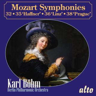 Mozart, Wolfgang Amadeus: Symphonies 32, 35, 36 & 38 - Berlin Philharmonic Orchestra | Böhm, Karl