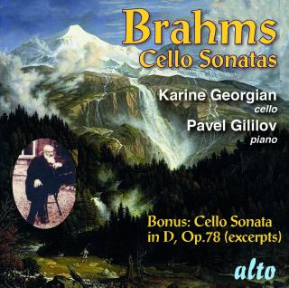 Brahms, Johannes: Cello Sonatas No. 1 op. 38 & No. 2 op. 99 - Georgian, Karine - cello | Gililov, Pavel - piano