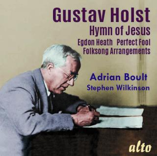 Holst, Gustav: Hymn of Jesus; Egdon Heath; Perfect Fool; Folksongs Arr. - Boult, Sir Adrian*$ - conductor
