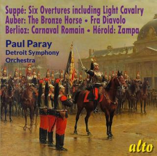 Suppé & Favourite French Overtures - Detroit Symphony Orchestra | Paray, Paul