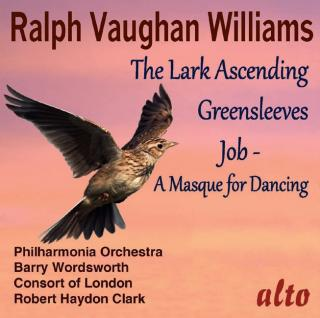 Vaughan Williams, Ralph:The Lark Ascending; Greensleeves; Job (A Masque for Dancing) - Philharmonia Orchestra | Wordsworth, Barry** | Clark, Robert Haydon