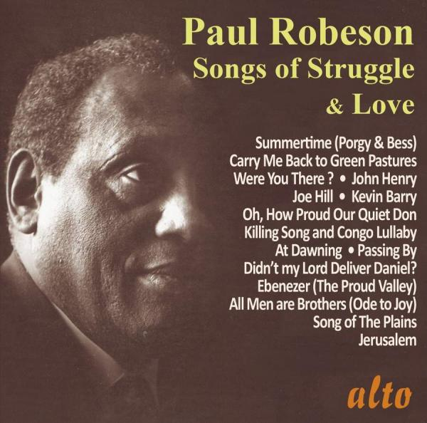 Paul Robeson: Songs of Struggle & Love (Very Best of Vol II ) <span>-</span> Robeson, Paul