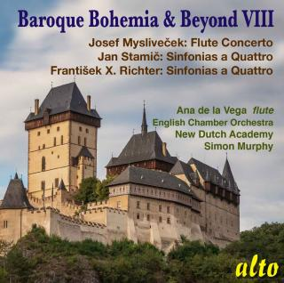 Baroque Bohemia & Beyond VIII - Stamic, Richter & Myslievecek - New Dutch Academy / Murphy, Simon / (etc)
