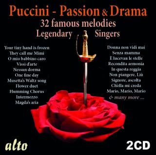 Legendary Singers – Puccini, Giacomo: Romance & Drama - Diverse sangere